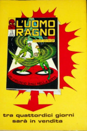 Verso de L'uomo Ragno (Editoriale Corno) V1 -60- Gioco Torbido