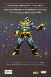 Verso de Thanos (One shots) - Thanos : La fin de l'univers Marvel