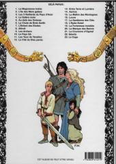 Verso de Thorgal -3c1999- Les trois vieillards du pays d'aran