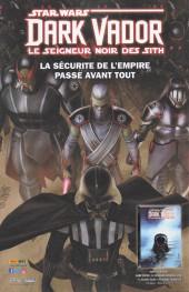 Verso de Star Wars (Panini Comics - 2019) -4- La Forteresse de Vador