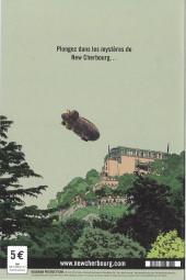 Verso de New Cherbourg Stories -1- Coups de feu au Roule Palace !!