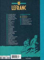 Verso de Lefranc - La Collection (Hachette) -II- L'aviation (2)