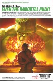 Verso de Immortal Hulk (The) (2018) -INT03- Hulk In Hell