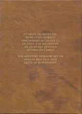 Verso de Le voyage des pères -INT- Intégrale Cycles 1 et 2