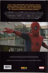 Verso de Marvel Cinematic Universe  -1- Spider-Man: Homecoming - Prélude