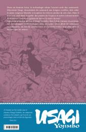 Verso de Usagi Yojimbo -HS2- Space Usagi