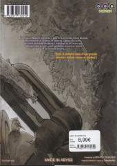 Verso de Made in Abyss -6- Volume 6