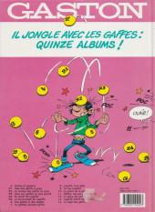 Verso de Gaston -12b1993- Le Gang des gaffeurs