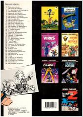 Verso de Spirou et Fantasio -32a1987- Les faiseurs de silence