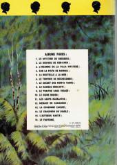 Verso de La patrouille des Castors -13a1971- La couronne cachée