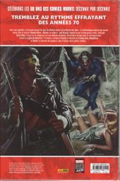 Verso de Les décennies Marvel -4- Les années 70 : la légion des monstres