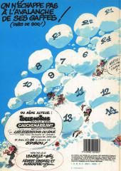 Verso de Gaston -8a1984/01- Lagaffe nous gâte