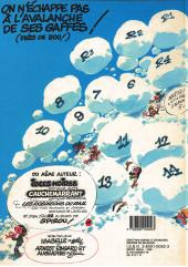 Verso de Gaston -10a1986- Le géant de la gaffe