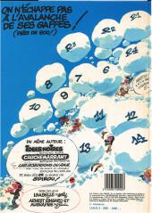 Verso de Gaston -12a1986- Le gang des gaffeurs