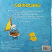 Verso de Les schtroumpfs (Jeux) - Mon livre puzzle