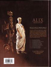 Verso de Alix Senator -9- Les Spectres de Rome