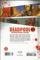 Verso de Deadpool - La collection qui tue (Hachette) -627- Wolverine origins: Deadpool