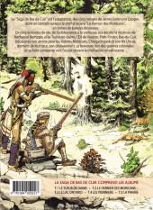 Verso de La saga de Bas de Cuir -3TL- le lac Ontario