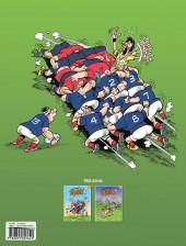 Verso de Les fous furieux du rugby -2- Les Fous furieux du rugby