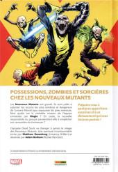Verso de New mutants - âmes défuntes