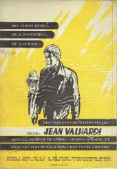Verso de Valhardi -7- Le gang du diamant