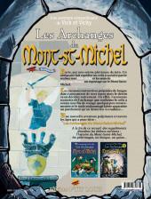 Verso de Vick et Vicky (Les aventures de) - Les archanges du Mont-Saint-Michel