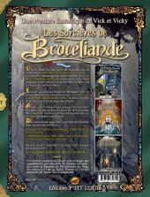 Verso de Vick et Vicky (Les aventures de) - Les sorcières de Brocéliande