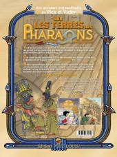 Verso de Vick et Vicky (Les aventures de) - Sur les terres des Pharaons