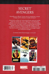 Verso de Marvel Comics : Le meilleur des Super-Héros - La collection (Hachette) -93- Secret avengers