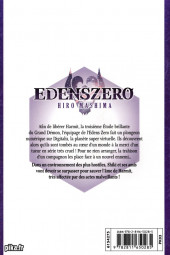 Verso de Edens Zero -5- Feu d'artifice