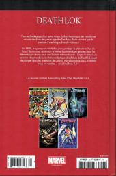 Verso de Marvel Comics : Le meilleur des Super-Héros - La collection (Hachette) -92- Deathlok