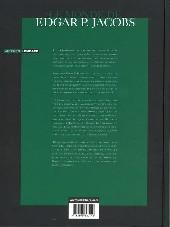 Verso de (AUT) Jacobs, Edgar P. -4a- Le Monde de Edgar P. Jacobs