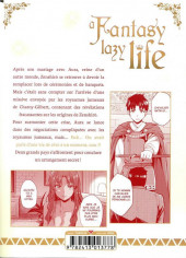 Verso de A Fantasy lazy life -3- Volume 3