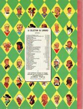 Verso de Blake et Mortimer (Historique) -3a59- Le mystère de la Grande Pyramide - Le Paryrus de Manéthon