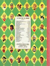 Verso de Blake et Mortimer (Historique) -4a59- Le mystère de la Grande Pyramide - La Chambre d'Horus