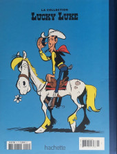 Verso de Lucky Luke - La collection (Hachette 2018) -4615- Le fil qui chante
