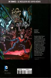 Verso de DC Comics - Le Meilleur des Super-Héros -103- Nightwing - Dernier envol