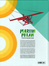 Verso de Martin Milan pilote d'avion-taxi (Intégrale) -2- Intégrale 2