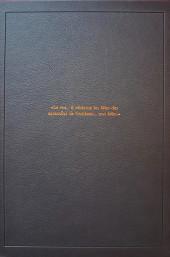 Verso de Le roy des Ribauds -INT- Intégrale Luxe noir et blanc