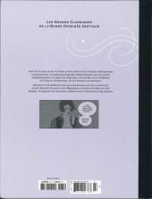 Verso de Les grands Classiques de la Bande Dessinée érotique - La Collection -8485- Mahârâja