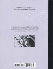 Verso de Les grands Classiques de la Bande Dessinée érotique - La Collection -8586- Erotic opera