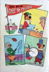 Verso de Four Color Comics (Dell - 1942) -1104- Yogi Bear Goes to College