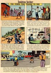 Verso de Four Color Comics (Dell - 1942) -1123- Tombstone Territory