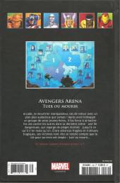 Verso de Marvel Comics - La collection (Hachette) -13995- Avengers Arena - Tuer ou Mourir