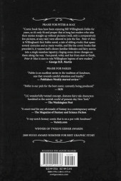 Verso de Fables (2002) -ROM- Peter & Max