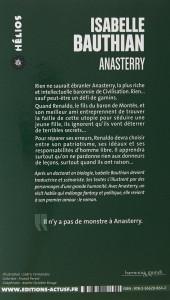 Verso de (AUT) Bauthian -R01 Poch- Les Rhéteurs, première version : Anasterry