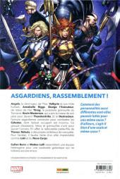 Verso de Les asgardiens de la galaxie -1- L'Armée des morts