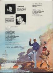 Verso de Bernard Prince -13b1981- Le port des fous