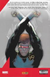 Verso de X-Men (Marvel France 6e série - 2019) -7- Déclarer la paix