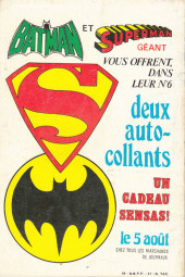 Verso de Superman (Poche) (Sagédition) -8- Superman poche N°8